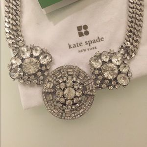 NWT Kate Spade Ice Queen Short Necklace